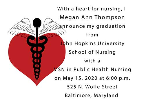 Graduation%20Announcements%20for%20Nurses%20Item%20UMEDNURS2152